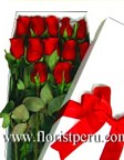 roses to Peru, send lovely roses to Peru, Romantic flowers to Peru, send love flowers, romantic roses Peru, long stem roses