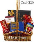best selection of high quality gift baskets for delivery to Lima Peru, exclusive gift baskets to Peru