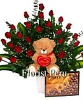 best prices for delivery to Peru, send floral gifts to Lima
