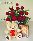 Romantic flowers to Peru, send love flowers, red roses Peru, same day delivery